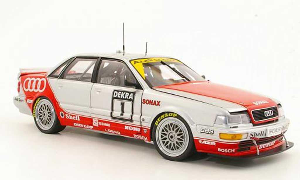 Audi V8 Quattro 1/18 Minichamps No.1 F.Biela Team AZR DTM Saison 1992 miniature