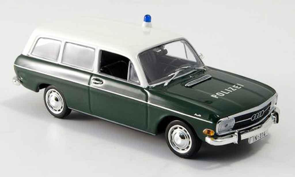 Audi 60 1/43 Minichamps Variant police Ingolstadt miniature