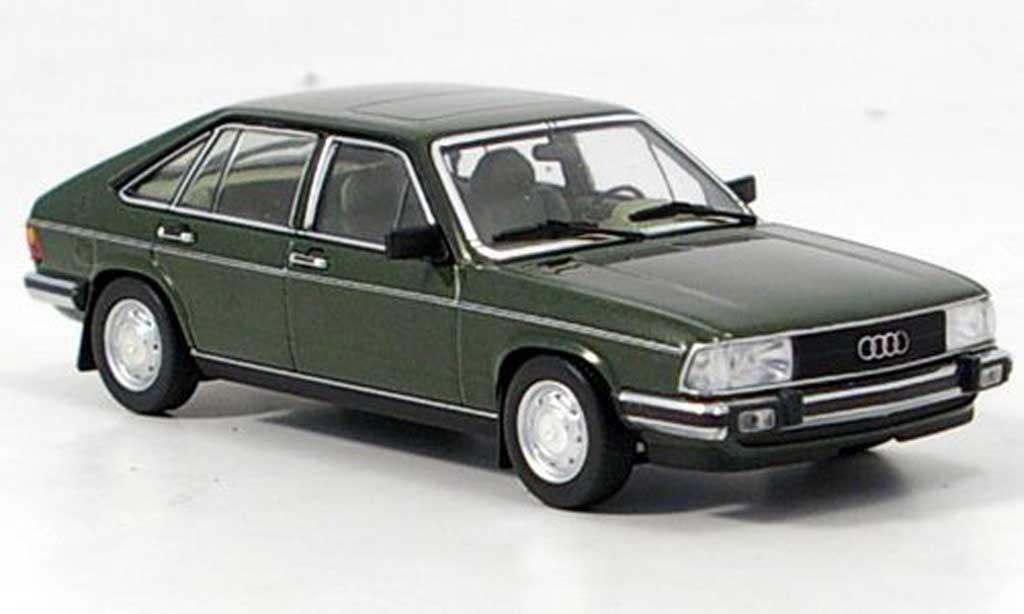 Audi 100 avant 1/43 Minichamps verte 1979 miniature
