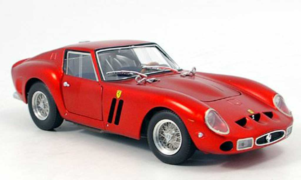 Ferrari 250 GTO 1/18 Hot Wheels Elite serie elite  met. rouge 60th ferrari miniature