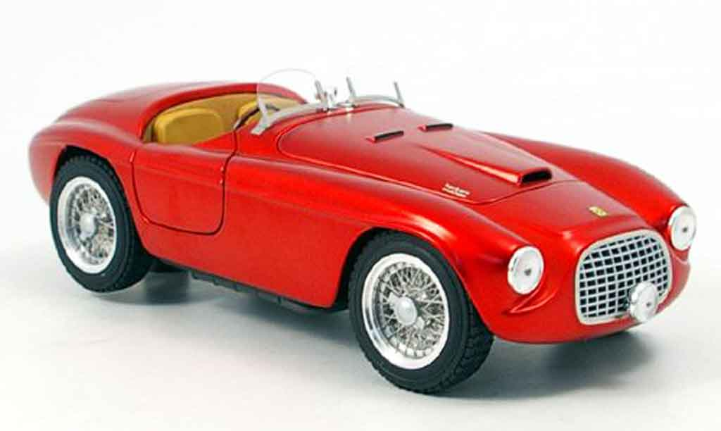 Ferrari 166 1/18 Hot Wheels Elite MM barchetta serie elite rouge 60th