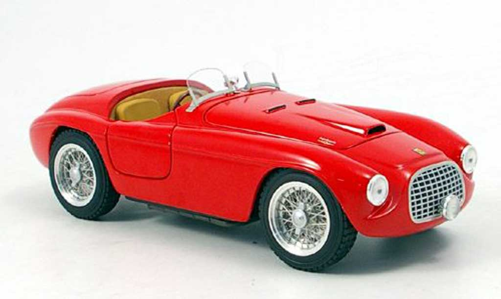 Ferrari 166 1/18 Hot Wheels Elite MM barchetta rouge serie elite miniature