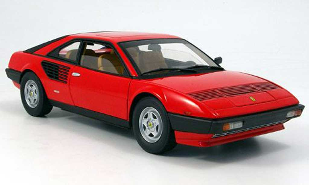 Ferrari Mondial 1/18 Hot Wheels Elite 8 red serie elite diecast model cars