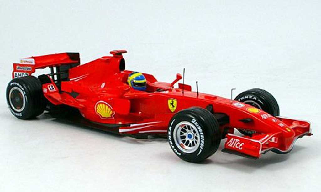 Ferrari F1 F2007 1/18 Hot Wheels massa 2007 miniature