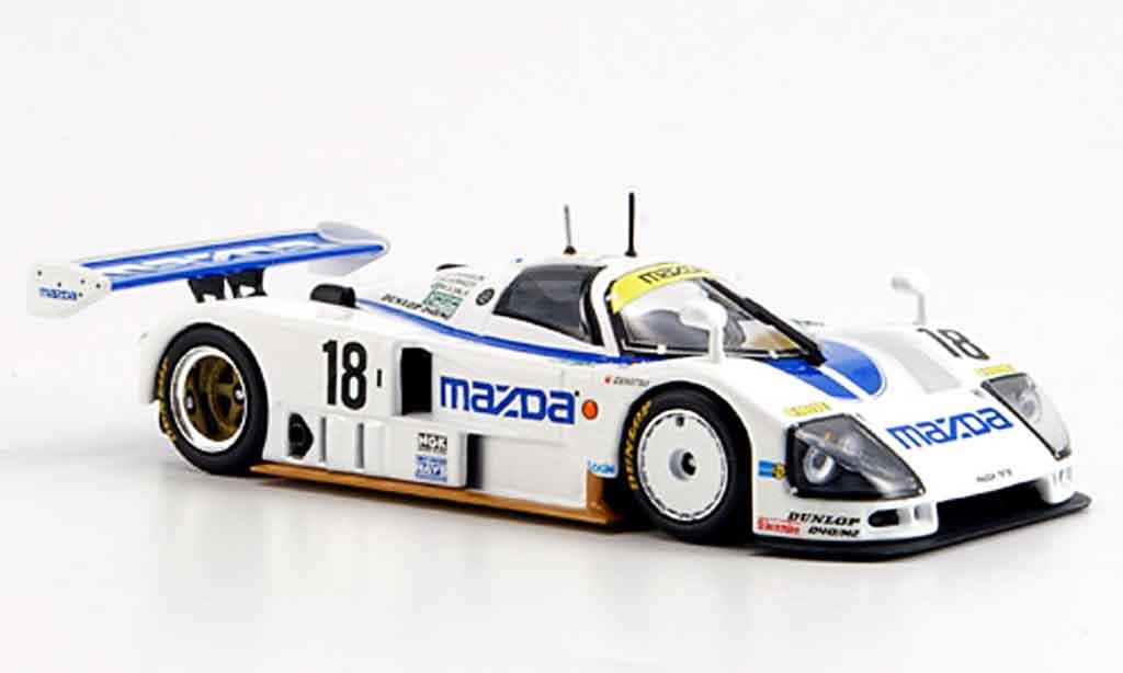 Mazda 787B 1/43 Minichamps 24h Le Mans 1991 miniature