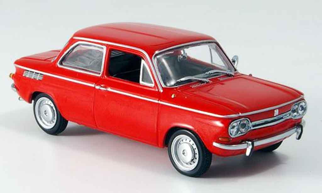 NSU TT 1/43 Minichamps red 1967 diecast