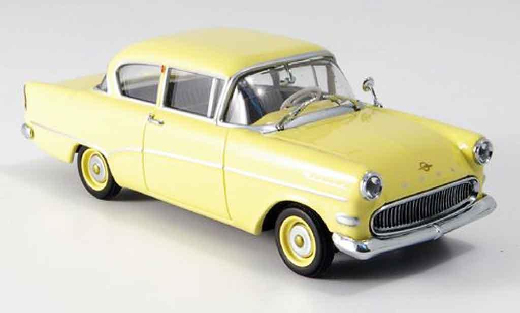 Opel Rekord 1/43 Minichamps p1 jaune 1958 miniature