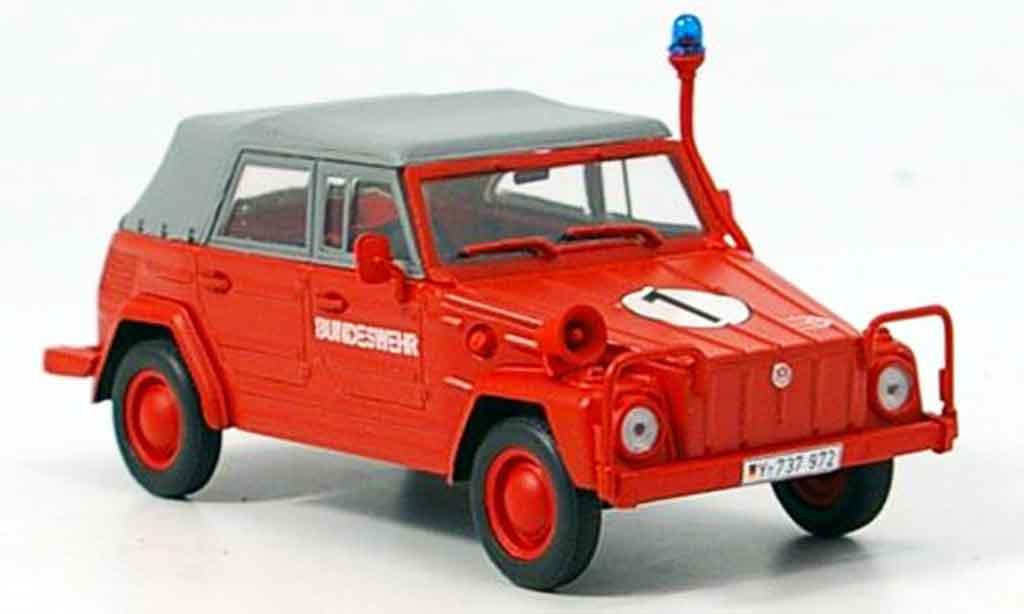 Volkswagen Combi 1/43 Minichamps 181 kubelwagen bundeswehr pompier 1969