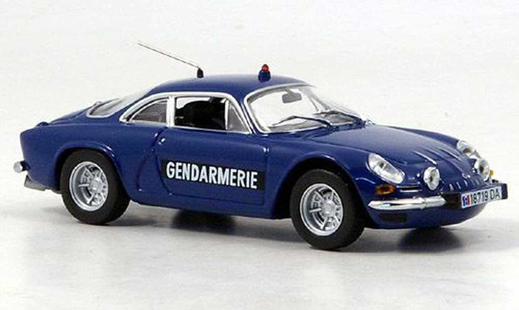 Alpine A110 1/43 Minichamps Gendarmerie Polizei (F) 1971 diecast model cars