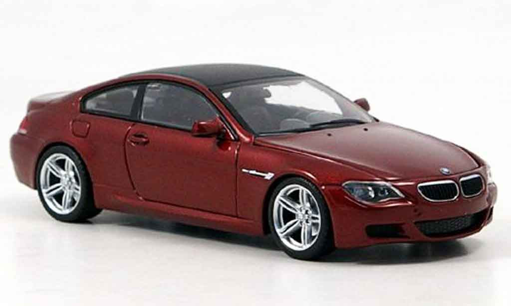 Bmw M6 E63 1/43 Minichamps 6er Coupe 2006 miniature