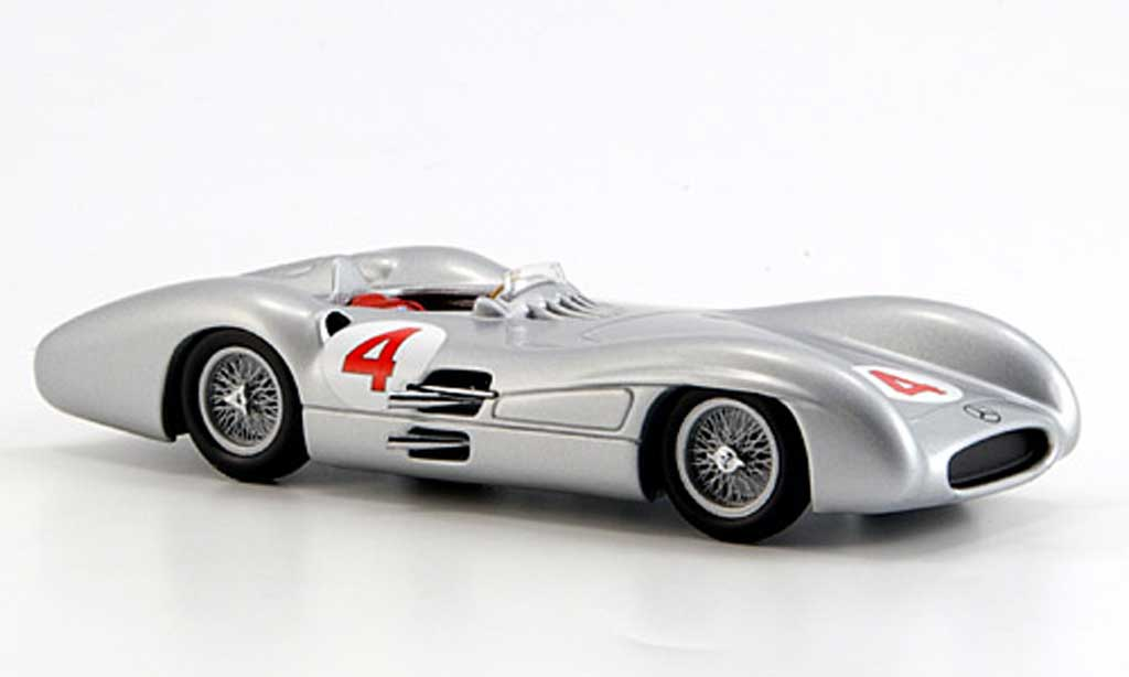 Mercedes W 196 1/43 Minichamps Kling No.4 Sieger GP Berlin 1954 miniature
