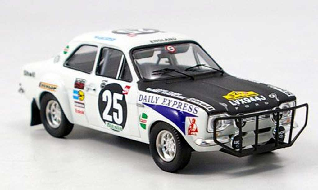 Ford Escort RS 1600 1/43 Trofeu No.25 R.Clark / G.Staepelaere East African Safari 1971 miniature