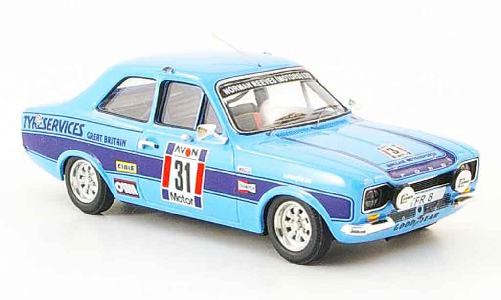 Ford Escort RS 2000 1/43 Trofeu No.31 Sieger Tour of Britain 1975 MK1 miniature