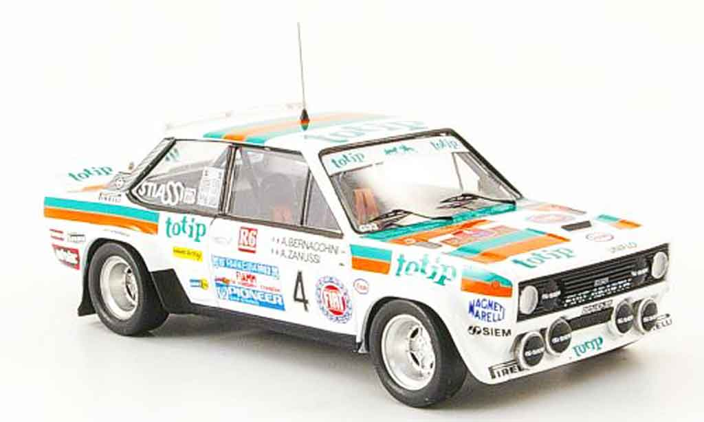 Fiat 131 1/43 Trofeu Abarth Zanussi European Champion miniature