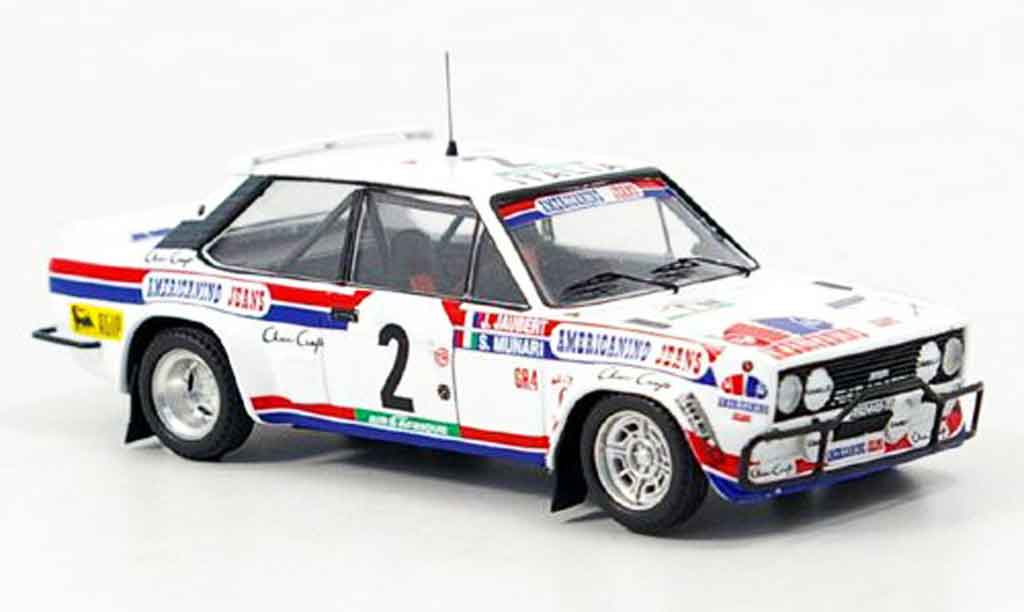 Fiat 131 1/43 Trofeu Abarth Munari Bandama 1980 diecast