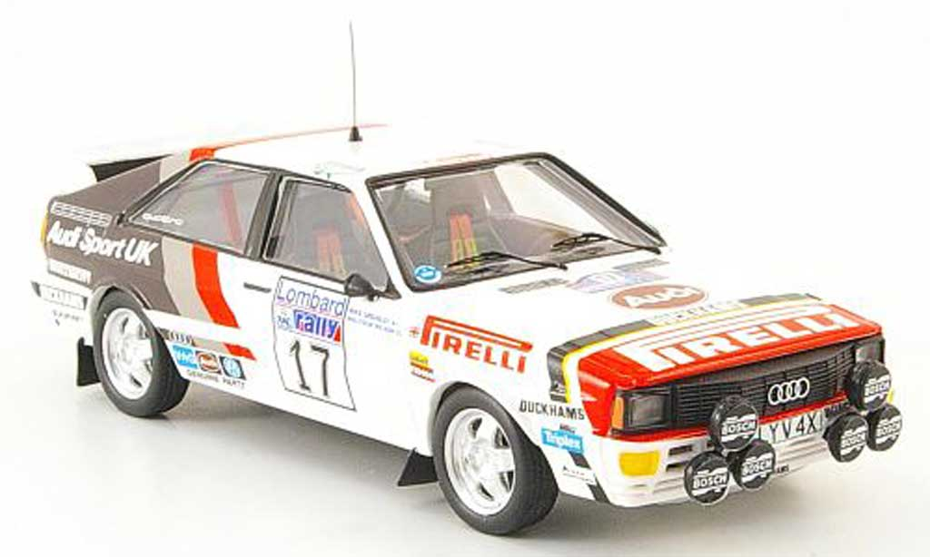 Audi Quattro 1/43 Trofeu Wilson RAC Rally 1982 miniature