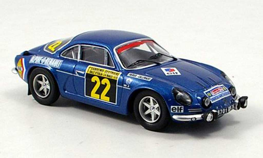 Alpine A110 1/43 Trofeu 1600S Therier Sieger Rally San Remo 1970 diecast model cars