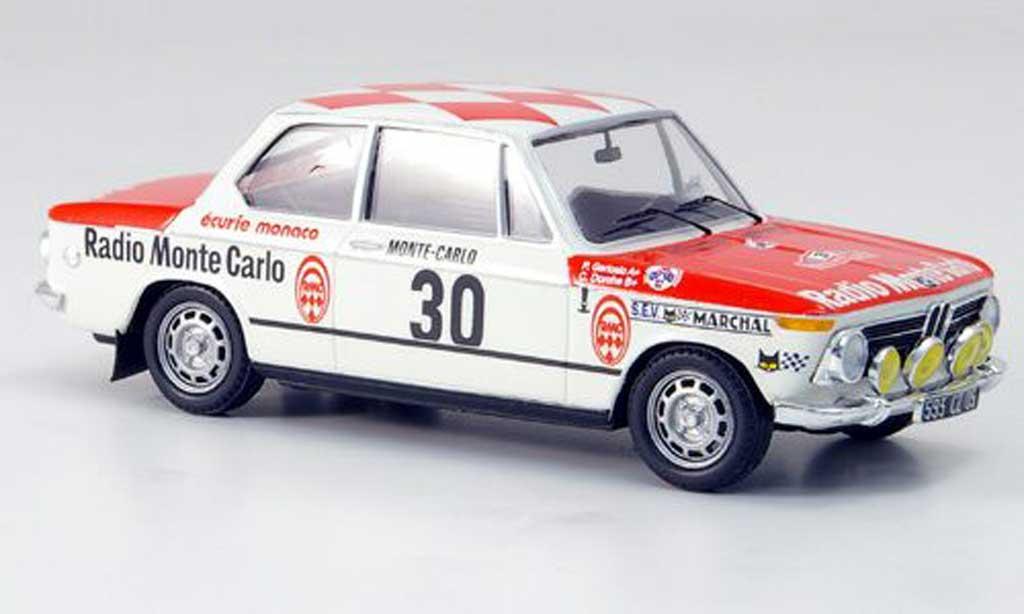 Bmw 2002 Tii 1/43 Trofeu No.30 Dorche/Gertosio Rally Monte Carlo 1975 miniature