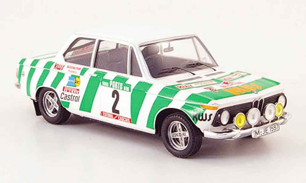 Bmw 2002 Tii 1/43 Trofeu No.2 Warmbold Davenport Rally Portugal 1975 miniature