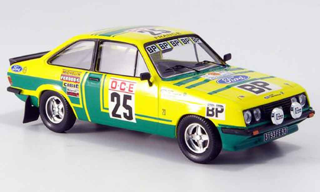 Ford Escort RS 2000 1/43 Trofeu Chasseuil Rally Afrika 1976 miniature