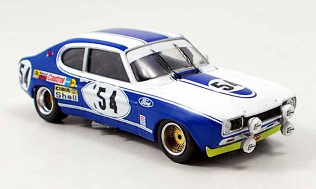 Ford Capri 2600 1/43 Trofeu  No.54 Sieger 24h Le Mans 1972 miniature