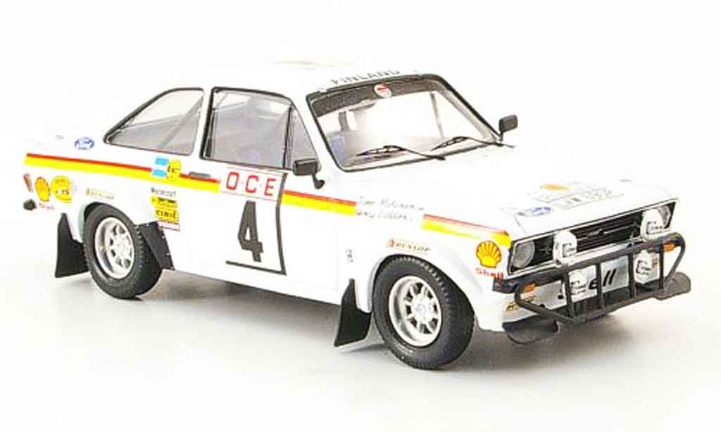 Ford Escort MK2 1/43 Trofeu MK2 Makinen Rally Marokko 1976 miniature