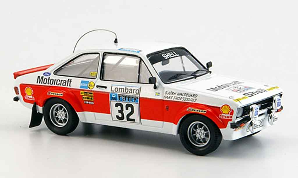 Ford Escort RS 1800 1/43 Trofeu No.32 Rally Gro?britannien 1976 MK2 miniature