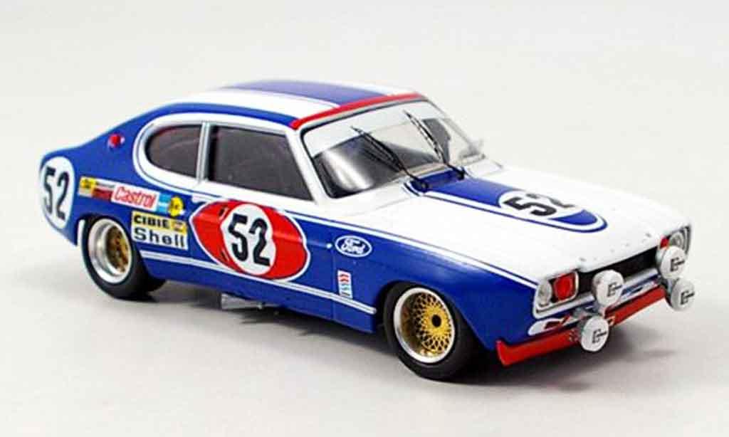 Ford Capri 2600 1/43 Trofeu  No.52 24h Le Mans 1972 miniatura