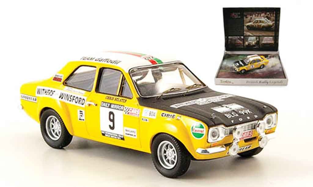 Ford Escort MK1 1/43 Trofeu Sclater British Rally Champ 1971 miniature