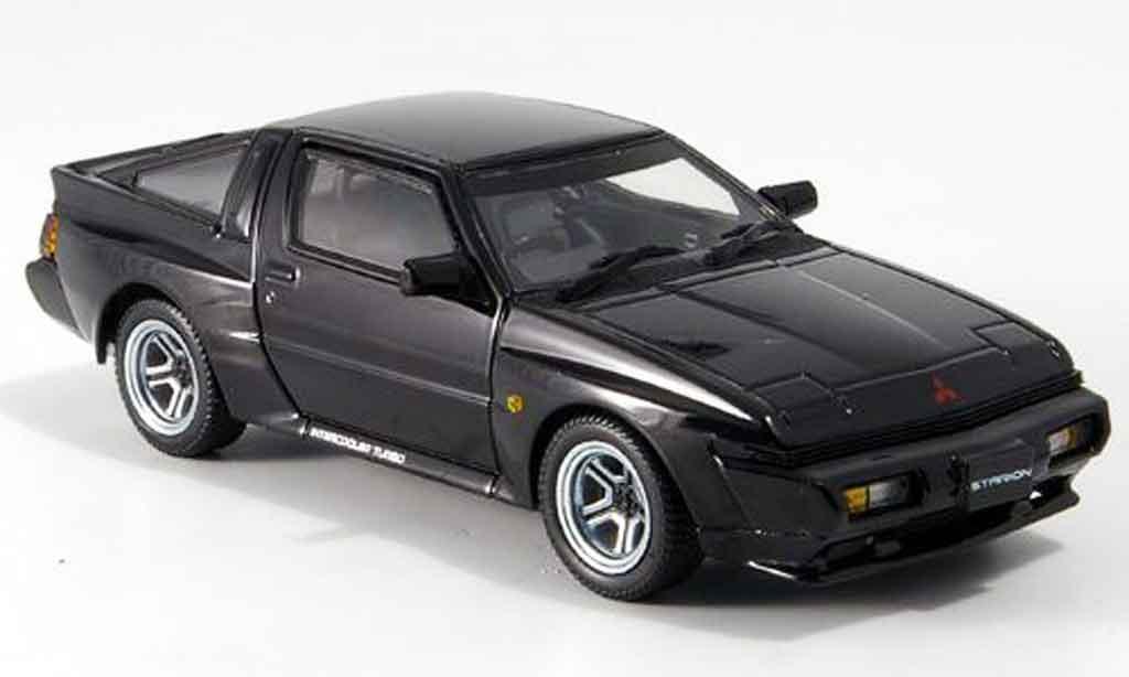 Mitsubishi Starion 1/43 Kyosho GSR VR black diecast model cars