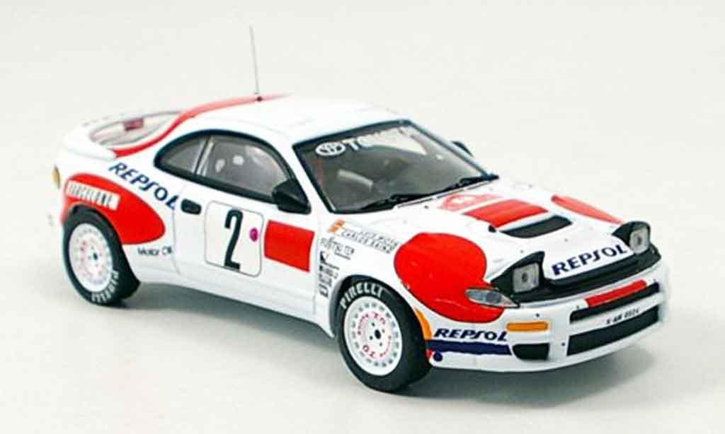 Toyota Celica 1/43 IXO no.2 sainz moya rallye monte carlo 1992 miniature