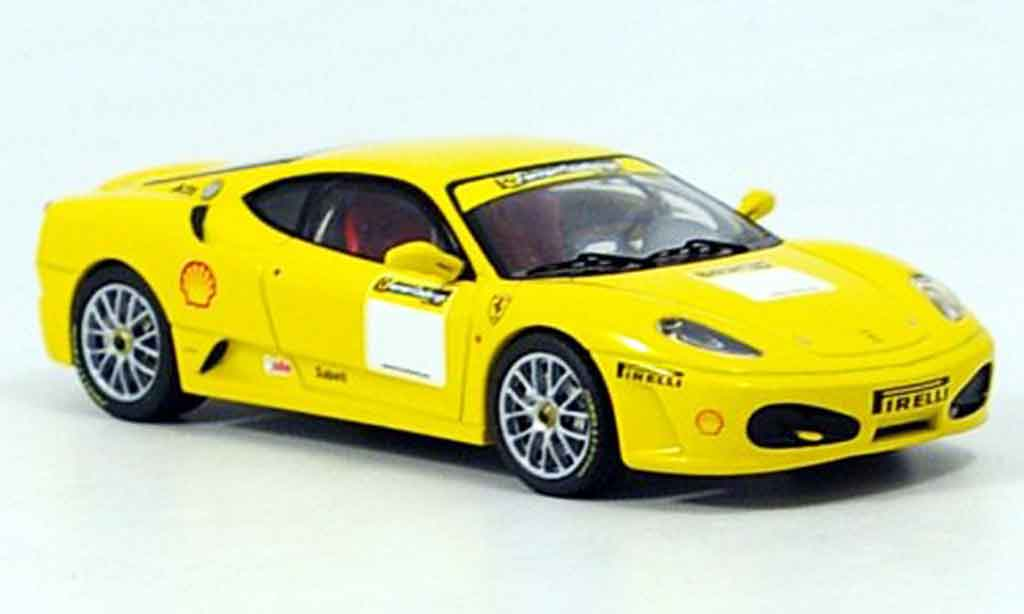 Ferrari F430 Challenge 1/43 IXO fiorano test yellow 2006 diecast model cars