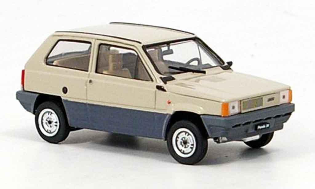 Fiat Panda 1/43 Brumm 30 beige 1980 miniature