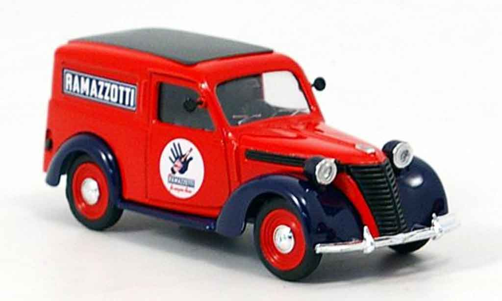 Fiat 1100 1950 1/43 Brumm E Ramazzotti Lieferwagen diecast model cars