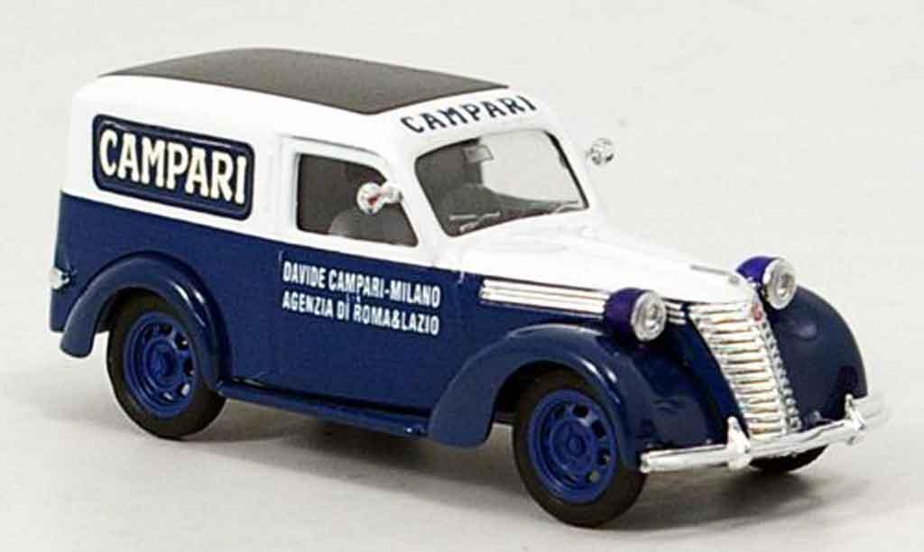 Fiat 1100 1/43 Brumm Lieferwagen Campari coche miniatura