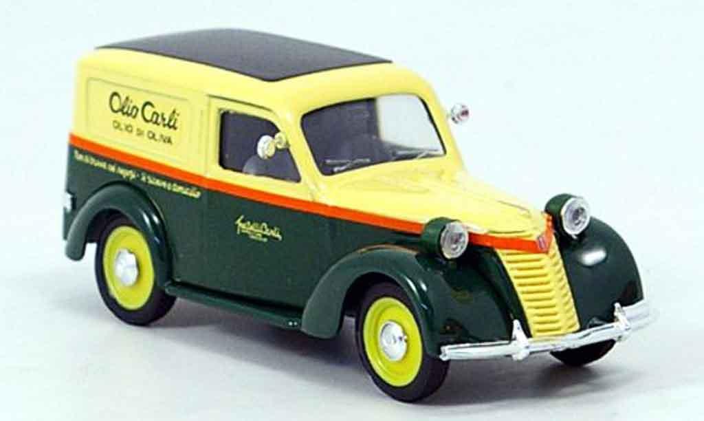 Fiat 1100 1/43 Brumm E Olio Carli Lieferwagen diecast model cars