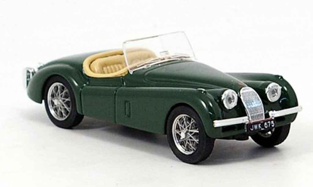 Jaguar XK 120 1/43 Brumm spider grun offen 1948 miniature