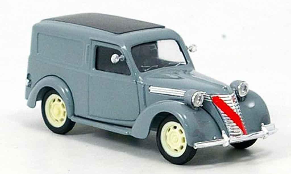 Fiat 1100 1/43 Brumm E Lieferwagen grise miniature