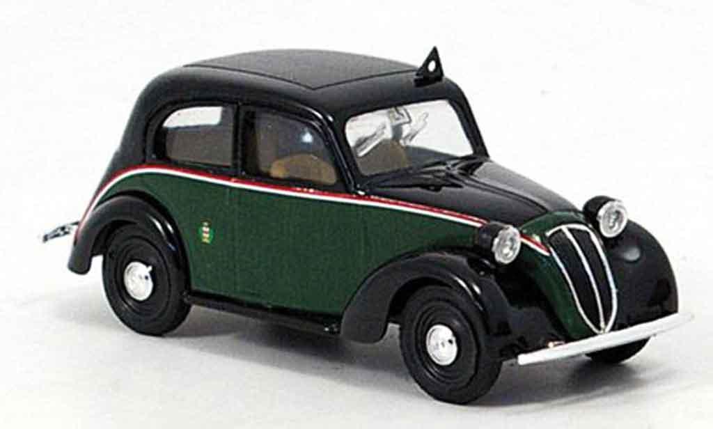 Fiat 1100 1937 1/43 Brumm (508c.) Taxi Mailand  miniature
