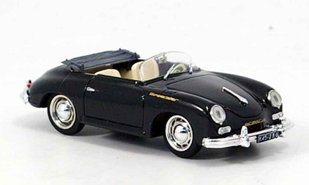 Porsche 356 1952 1/43 Brumm A Speedster noire miniature