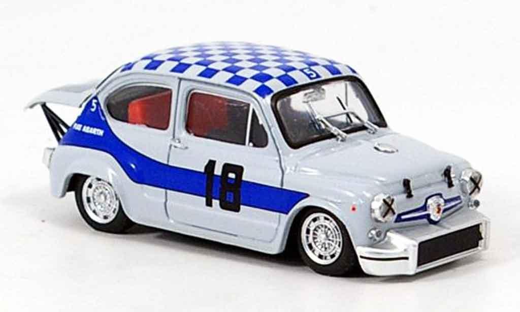 Fiat Abarth 1000 1/43 Brumm No.18 4h Monza 1968 miniature