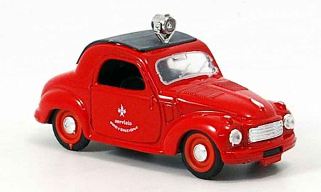 Fiat 500 1/43 Brumm C pompier Italien 1949 miniature