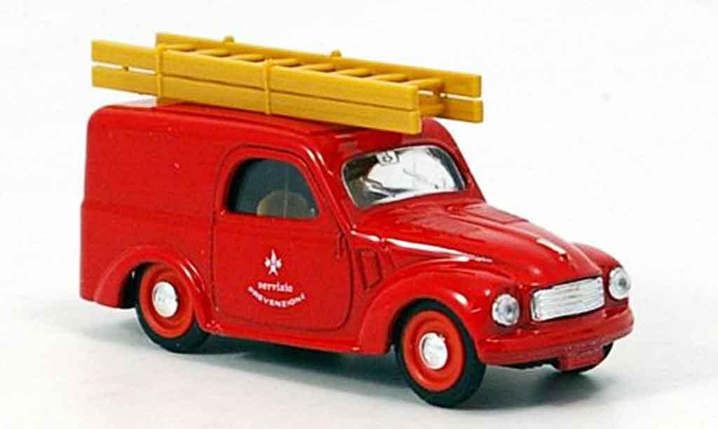 Fiat 500 1/43 Brumm C Lieferwagen pompier Italien 1949 diecast