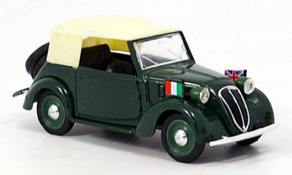 Fiat 1100 1937 1/43 Brumm Cabrio Diplomatico  miniature