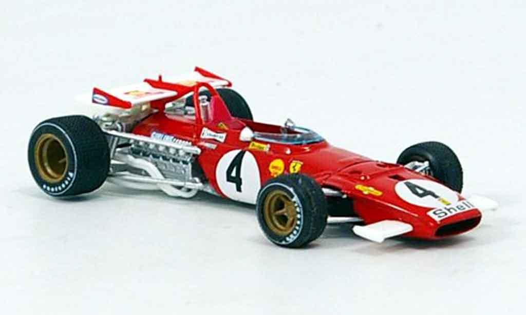 Ferrari 312 B 1/43 Brumm b no.4 regazzoni gp italien 1970 miniature