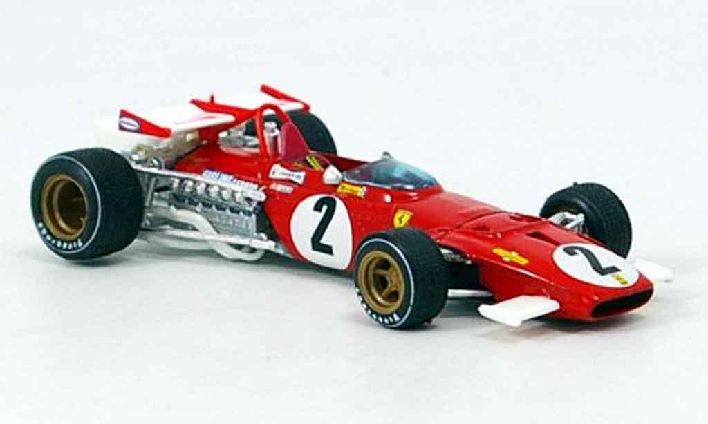 Ferrari 312 B 1/43 Brumm b no.2 j.ickx gp italien 1970 miniature