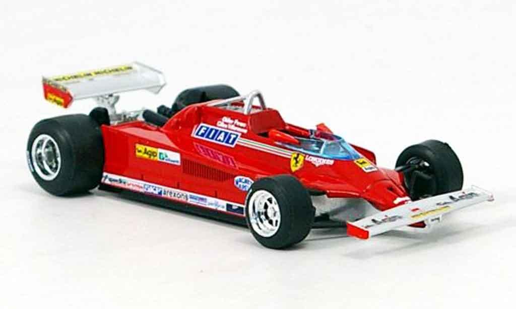 Ferrari 126 1981 1/43 Brumm CK turbo g.villeneuve test monza modellautos