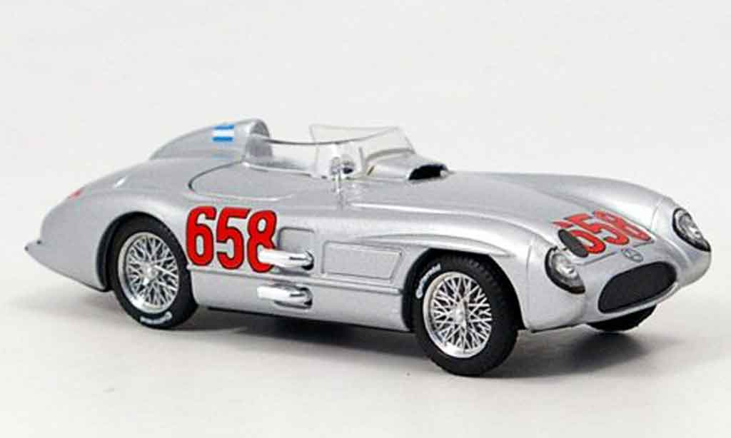 Mercedes 300 SLR 1/43 Brumm No.658 Fangio Mille Miglila 1955 modellautos