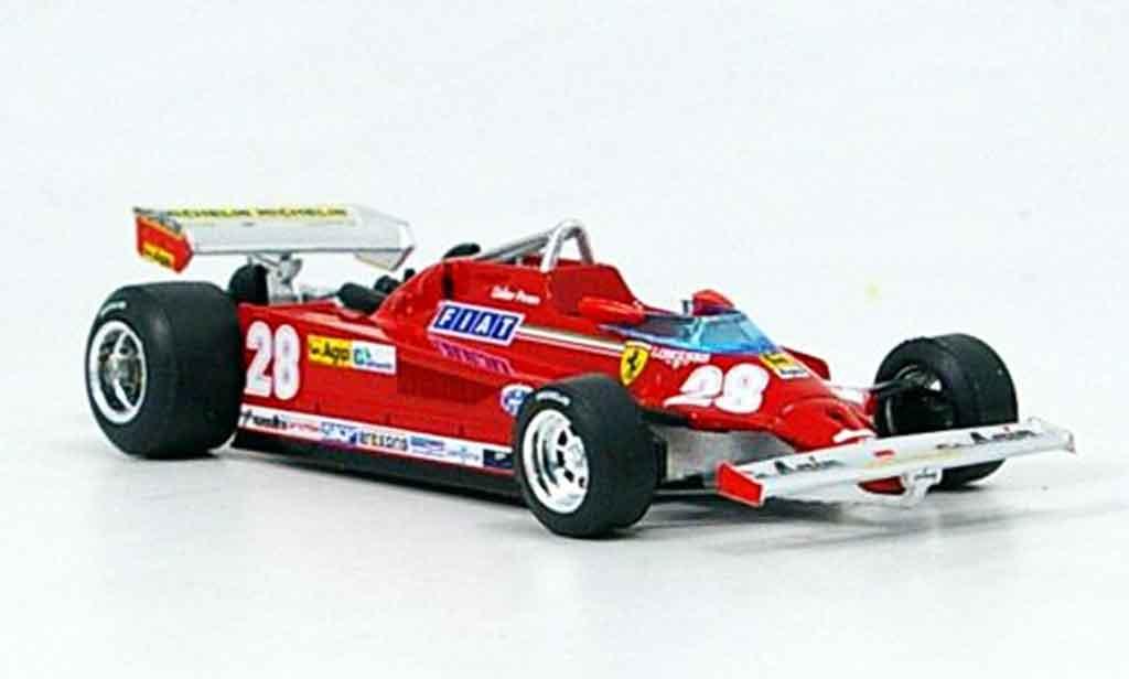 Ferrari 126 1981 1/43 Brumm CK turbo no.28 d.pironi gp italien modellautos