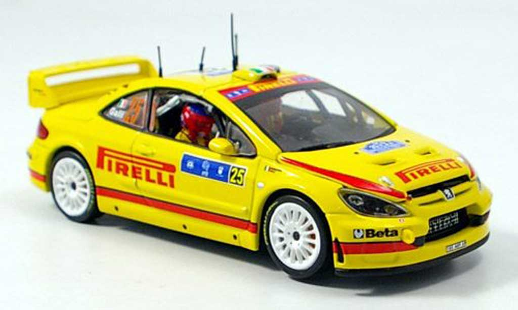 Peugeot 307 WRC 1/43 Vitesse Galli Tour de Course diecast model cars
